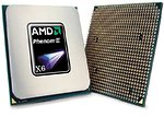 Фото AMD Phenom II X6 1055T Thuban 2800Mhz (HDT55TFBGRBOX, HDT55TFBK6DGR)