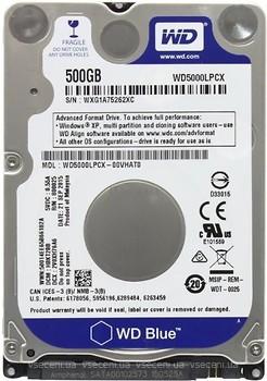 Фото Western Digital Blue 500 GB (WD5000LPCX)