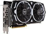 Фото MSI GeForce GTX 1060 Armor OC V1 6GB 1544MHz (GeForce GTX 1060 ARMOR 6G OCV1)