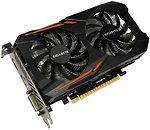 Фото Gigabyte GeForce GTX 1050 Ti OC 4GB 1341MHz (GV-N105TOC-4GD)