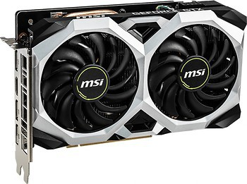 Фото MSI GeForce GTX 1660 Ventus XS OC 6GB 1530MHz (GeForce GTX 1660 VENTUS XS 6G OC)