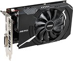 Фото MSI GeForce GTX 1650 Aero ITX OC 4GB 1485MHz (GeForce GTX 1650 AERO ITX 4G OC)