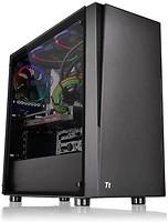 Фото Thermaltake Versa J21 Tempered Glass Edition w/o PSU Black