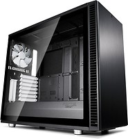 Фото Fractal Design Define S2 Tempered Glass w/o PSU Black (FD-CA-DEF-S2-BK-TGL)