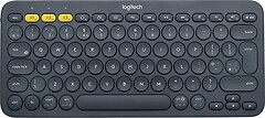 Фото Logitech K380 Multi-Device Grey Bluetooth (920-007584)