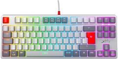 Фото Xtrfy K4 TKL RGB Retro Kailh Red UA-RU Black USB