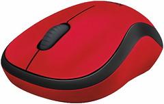 Фото Logitech M220 Silent Red USB (910-004880)