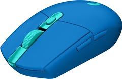 Фото Logitech G305 Lightspeed Blue USB (910-006014)