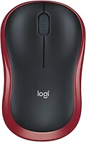 Фото Logitech M185 Black-Red USB (910-002237/910-002240)