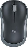Фото Logitech M185 Grey-Black USB (910-002235/910-002238)