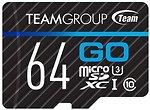 Фото Team Group Go microSDXC Class 10 UHS-I U3 64Gb