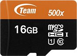 Фото Team Group microSDHC Class 10 UHS-I 500x 16Gb