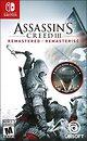 Фото Assassin's Creed III Remastered (Nintendo Switch), картридж