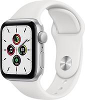 Фото Apple Watch SE GPS 40mm Silver Aluminum Case with White Sport Band (MYDM2)