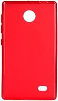 Фото Drobak Elastic PU Nokia X Red (215119)