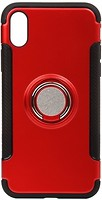 Фото BeCover Magnetic Ring Stand Apple iPhone X Red (701784)