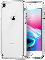Фото Spigen Case Ultra Hybrid 2 for Apple iPhone 7/8 Crystal Clear (SGP042CS20927)