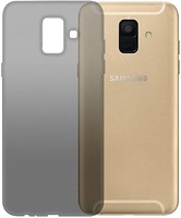 Фото GlobalCase Samsung Galaxy A6 SM-A600 Extra Slim TPU темный (1283126483110)