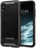Фото Spigen Case Hybrid NX for Apple iPhone Xs Gunmetal (SGP063CS24943)