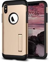 Фото Spigen Case Slim Armor for Apple iPhone Xs Max Champagne Gold (SGP065CS25154)