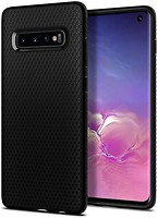 Фото Spigen Case Liquid Air for Samsung Galaxy S10 SM-G973F Matte Black (SGP605CS25799)