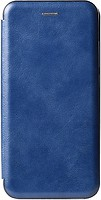 Фото Toto Book Rounded Leather Case Xiaomi Redmi Note 7 Navy Blue