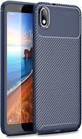 Фото Toto TPU Carbon Fiber Case Xiaomi Redmi 7A Dark Blue