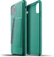 Фото Mujjo Full Leather Wallet чехол на Apple iPhone 11 Pro Max Alpine Green (MUJJO-CL-004-GR)