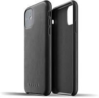 Фото Mujjo Full Leather чехол на Apple iPhone 11 Black (MUJJO-CL-005-BK)