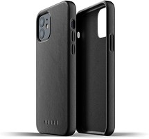 Фото Mujjo Full Leather чехол на Apple iPhone 12/12 Pro Black (MUJJO-CL-007-BK)
