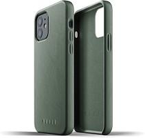 Фото Mujjo Full Leather чехол на Apple iPhone 12/12 Pro Slate Green (MUJJO-CL-007-SG)