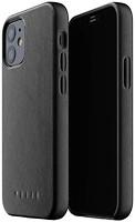 Фото Mujjo Full Leather чехол на Apple iPhone 12 Mini Black (MUJJO-CL-013-BK)