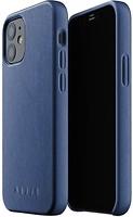 Фото Mujjo Full Leather чехол на Apple iPhone 12 Mini Monaco Blue (MUJJO-CL-013-BL)