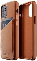 Фото Mujjo Full Leather Wallet чехол на Apple iPhone 12 Mini Tan (MUJJO-CL-014-TN)
