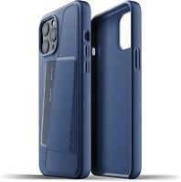 Фото Mujjo Full Leather Wallet чехол на Apple iPhone 12 Pro Max Monaco Blue (MUJJO-CL-010-BL)