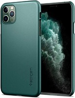 Фото Spigen Case Thin Fit for Apple iPhone 11 Pro Max Midnight Green (ACS00410)