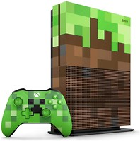 Фото Microsoft Xbox One S 1Tb Minecraft Limited Edition