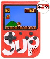 Фото Dendy Sup Retro Game Box with Controller 400 in 1 Red