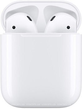 Фото Apple AirPods 2 with Charging Case White (MV7N2)