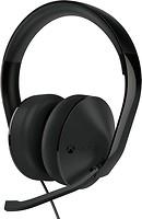 Фото Microsoft Xbox One Stereo Headset Black (S4V-00013)