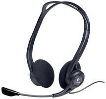 Фото Logitech PC 960 Headset USB Black (981-000100)