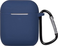 Фото Toto AirPods 2nd Generation Silicone Case Midnight Blue