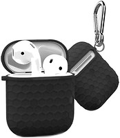 Фото WiWU Football Protect Case for Apple AirPods Black