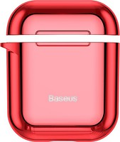 Фото Baseus AirPods Shining Hook Case Red
