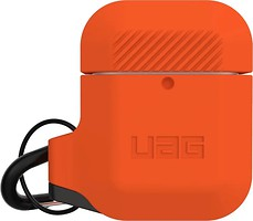 Фото UAG Silicone Hardcase for AirPods Orange/Grey (10185E119732)