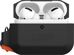 Фото UAG Silicone Hardcase for AirPods Pro Black/Orange (10225K114097)