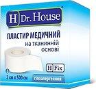 Фото Dr.House Пластырь на тканевой основе, бумажная упаковка 2 см x 5 м