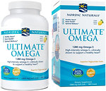 Фото Nordic Naturals Ultimate Omega 1280 мг со вкусом лимона 180 капсул (NOR-03790)