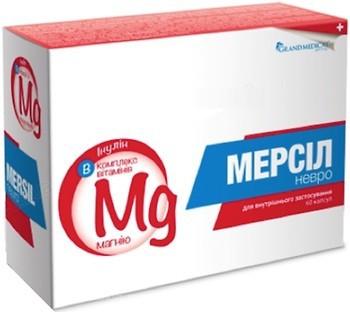 Grand Medical Мерсил Невро 60 капсул