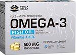 Фото Perla Helsa Omega 3 Fish Oil Vitamins A & D3 120 капсул